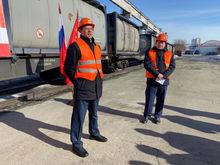 Из Сибири в Китай отправлен первый в России поезд с танк-контейнерами