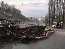 Остановить развитие оползня в Нижнем Новгороде пока не удалось