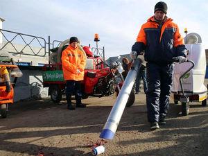В Красноярске запустят производство пылесосов для уборки улиц