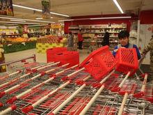 Торговые сети Красноярска усилили меры безопасности из-за коронавируса
