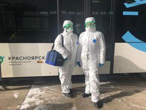 Covid-19: в аэропорту Красноярска стали брать анализы у пассажиров загранрейсов