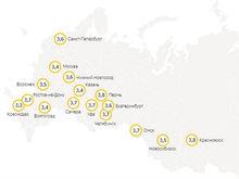 Яндекс оценил уровень самоизоляции красноярцев почти на четверку