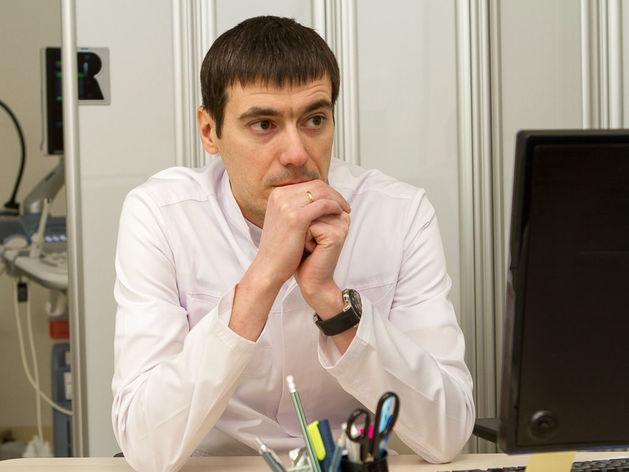 Дмитрий Мазуров, заведущий отделением ВРТ