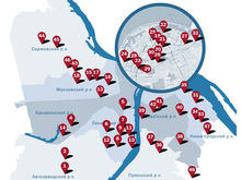 Карта новостроек: крупные строительные проекты, которые реализуются в Нижнем Новгороде