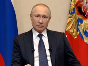 Путин готовит новое обращение к нации. Он выступит после 16 часов