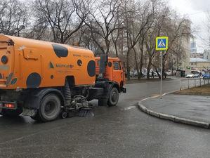 Екатеринбург начали мыть с хлоркой