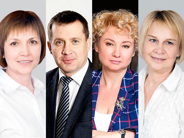Марина Подгайская, Сергей Семин, Ольга Чебыкина, Галина Веричева