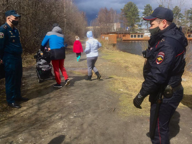 Полицейские нашли более сотни нарушителей режима самоизоляции в парках