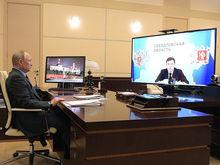 Пропускной режим на майские и деньги на ЕКАД. О чем Евгений Куйвашев говорил с президентом