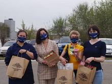 Красноярские производители полезных продуктов помогли медикам