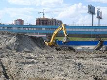 Строительство ледовой арены и метро в Новосибирске продолжается по графику