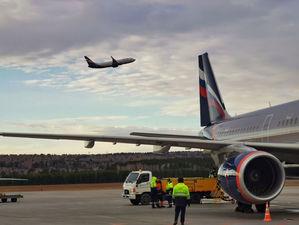 В аэропорту Красноярска остаются на консервации 15 самолетов
