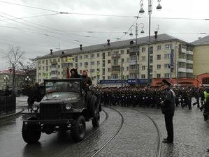 В Екатеринбурге начинается подготовка к Параду Победы