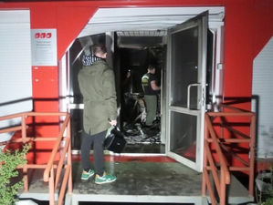 Неизвестные подожгли екатеринбургский офис федерального застройщика