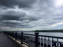 Красноярск в первый день лета ожидает шторм с дождями и грозами