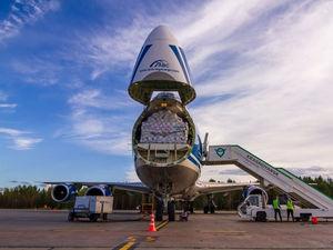 Грузооборот красноярского аэропорта увеличился почти в шесть раз