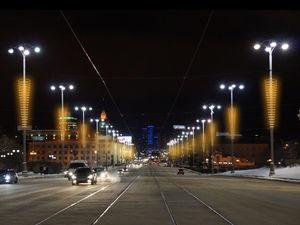 Да будет свет! Кто отвечает за иллюминацию в центре Екатеринбурга?