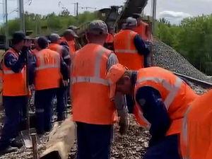 Движение поездов на участке Ачинск-Назарово могут восстановить уже завтра