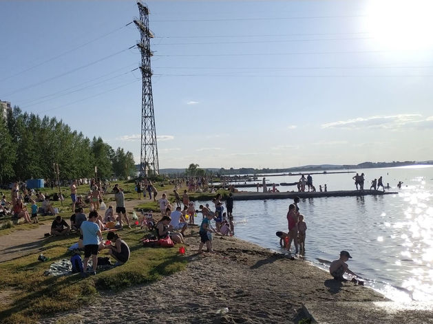 Верх-Исетский пруд Екатеринбурга