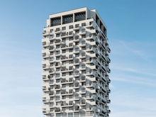 Дом-башню с двухэтажными квартирами построят в Новосибирске