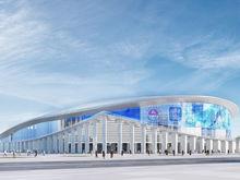 Федеральный бюджет отозвал субсидию на строительство ледовой арены на Стрелке