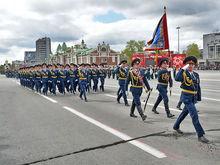 В мэрии рассказали, какие улицы перекроют во время репетиций и в день Парада Победы