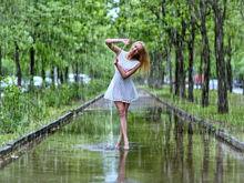 Лето возвращается, но от дождей не отказывается