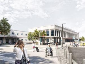 Площадь перед вокзалом «Нижний Новгород» благоустроят к 2021 г. Как?