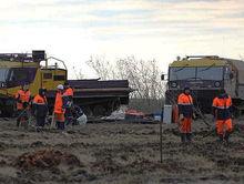 На севере Красноярского края обнаружен слив оборотной воды с производства