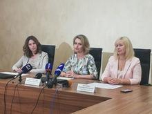 Председатель облизбиркома провела пресс-конференцию по итогам голосования по поправкам