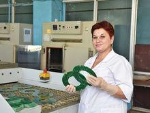 Хозяйка промывки. Изготовитель плат Любовь Лебедева стала лучшей по качеству на АПЗ
