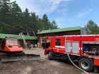 В гостиничном комплексе «Каштак» произошел пожар