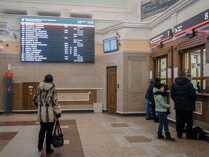 Поток пассажиров Красноярской железной дороги сократился на треть