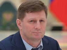 Хабаровского губернатора задержали по подозрению в организации заказных убийств