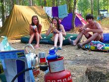 Красноярский край назвали одним из популярнейших мест для отдыха в палатках