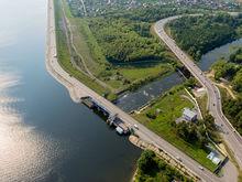 На участке набережной Миасса применят биотехнологии самоочистки реки