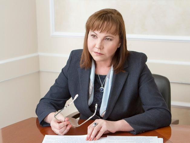 Министр финансов Свердловской области Галина Кулаченко