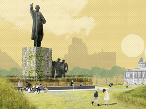 На площади Ленина предложили посадить злаковое поле. Представлены концепции развития