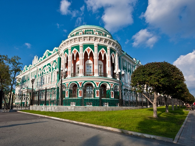 Реконструкцию визитной карточки Екатеринбурга — Дома Севастьянова — провела компания «Атомстройкомплекс»