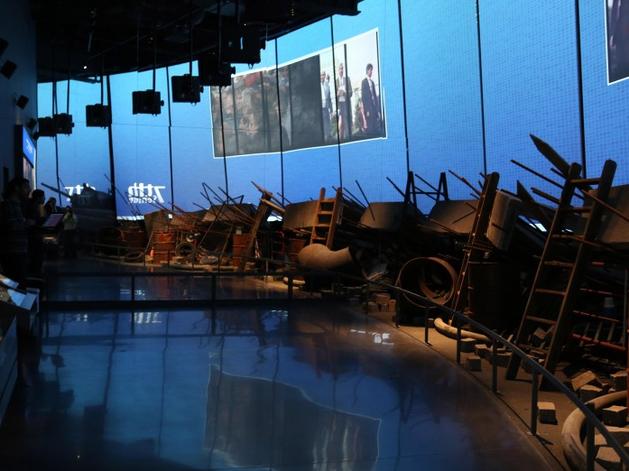 Часть экспозиции музея Бориса Ельцина