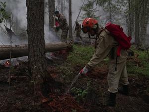 Лесные пожары приблизились к трассе Екатеринбург — Серов