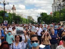 «Левада-центр»: 45% россиян поддерживают протестующих хабаровчан, 29% могут присоединиться