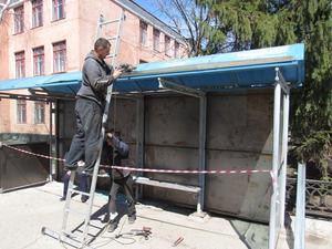 В Красноярске благоустроят более тридцати остановок общественного транспорта