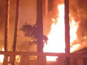 В курорте «Баден-Баден» случился пожар
