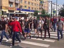 Участники марша в поддержку Хабаровска требовали отставки губернатора Усса