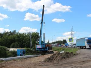 Из-за строительства долгожданной развязки в Ольгине изменится схема движения