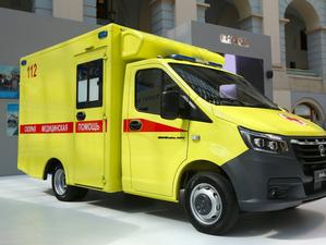 «Группа ГАЗ» разработала модульный автомобиль скорой помощи «ГАЗель NEXT»