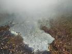Неизвестное вещество затопило промзону Дзержинска