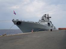 Корабли Северного ВМФ встали на якорь в порту Дудинка