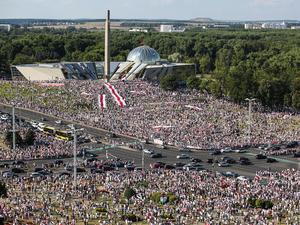 200 тыс. на митинге против Лукашенко. Тихановская заявила о готовности стать лидером нации